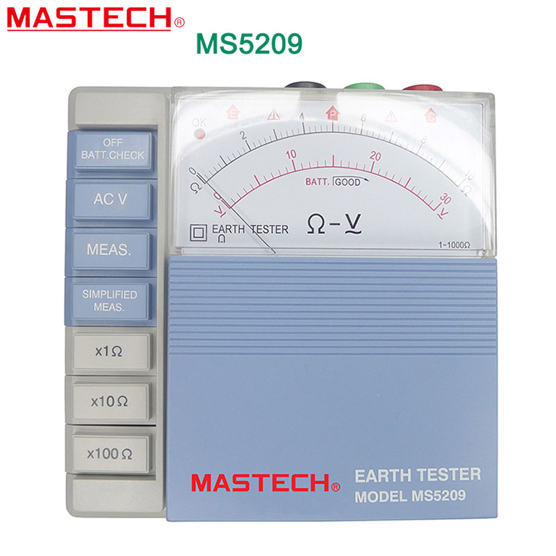 MASTECH MS5209 analogue Earth Resistance Tester Meter 10ohm to 1000ohms evgeniy gorbachev returning to earth research