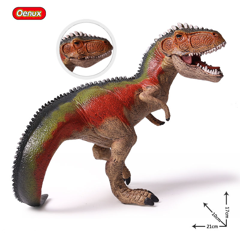 Oenux Prehistoric Savage Carnivorous Dinosaur Giganotosaurus Model Brinquedo Jurassic Dinosaurs Mouth Can Open Action Figure Toy oenux prehistoric jurassic carnivorous dinosaurs walking tyrannosaurus rex t rex world action figures dinosaur toy for kid gift