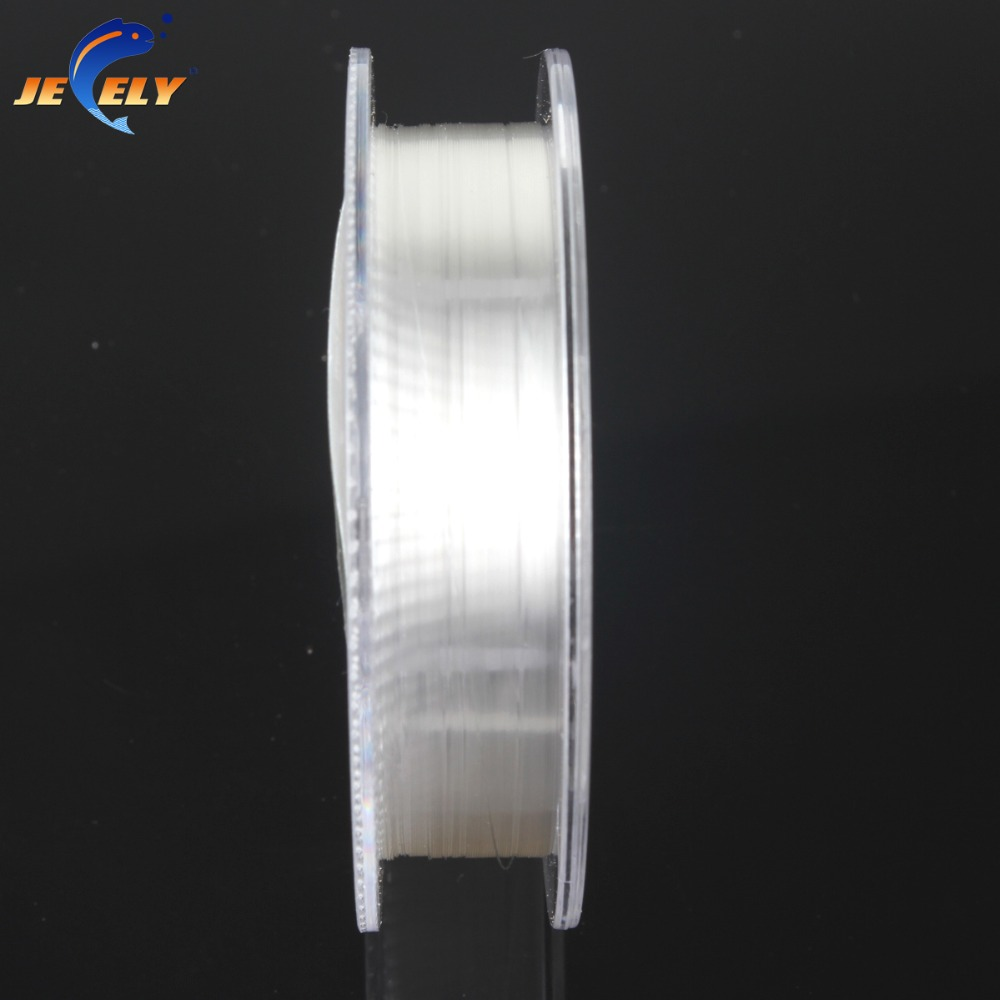 50m 100% Japanese Fluorocarbon Material Leader Fishing Line 4lb 5lb 6lb 7lb 8lb 9lb 10lb