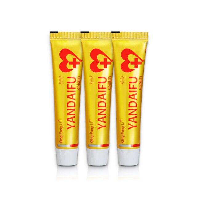 3pcs yiganerjing cream bingfuchun Sulfur Antibacterial YANDAIFU Handmade Chinese Herbal Natural Restrain not box