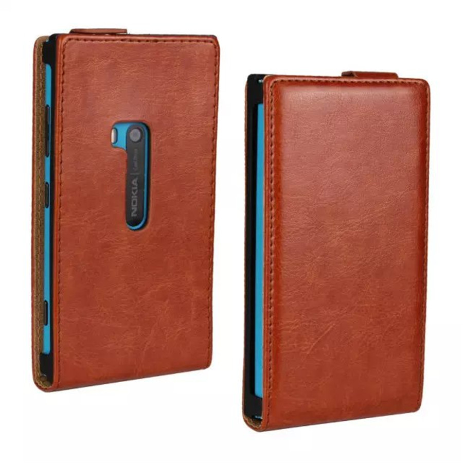 Ultra Thin PU Leather Phone Case For Nokia Lumia 920 Magnetic Buckle Vertical Mobilephone Cover Cellphone Protection Accessories image