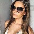 Luneta Femme Das Mulheres Marca De Luxo Óculos de Sol Das Senhoras 2016 Das Senhoras Sunbirds Polígono UV400 Eyewear Quadro Do Gato Olho Óculos de Sol Feminino