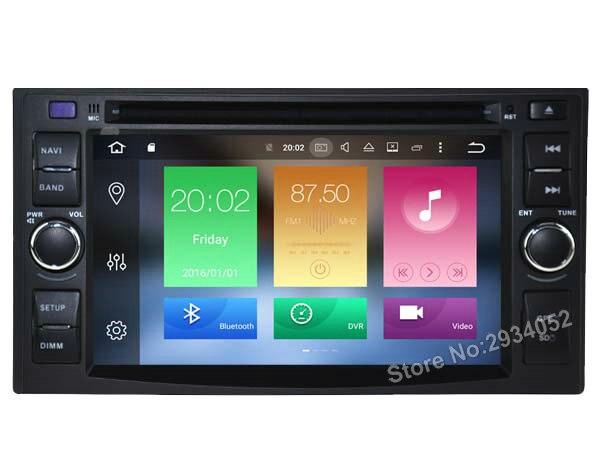 VOOR KIA EURO STAR RIO SEDONA Android 6.0 Auto dvd-speler Octa-Core (8 Core) 2G RAM 1080 P 32 GB ROM WIFI gps hoofd apparaat unit stereo
