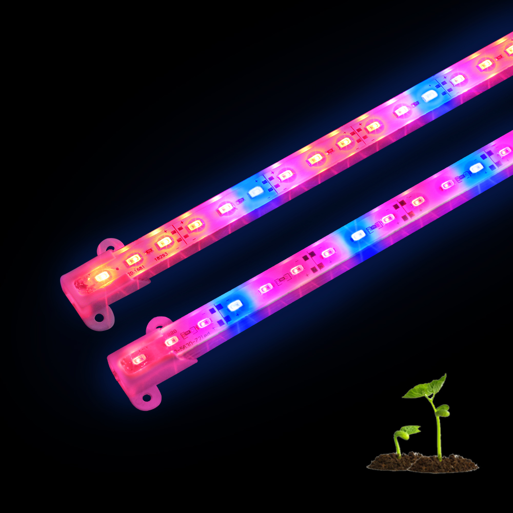 2PCS Plant Grow Light DC 12V 5630 LED Bar Light 50CM For Aquarium Greenhouse Plant Growing Lamp 3Red1Blue  5Red1Blue