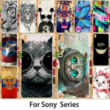 Animal Phone Case For Sony Xperia L1 Sony L1 G3311 G3312 G3313 Dual F3311 F3312 F3313 5.5 inch Hard Plastic Soft TPU Back Covers