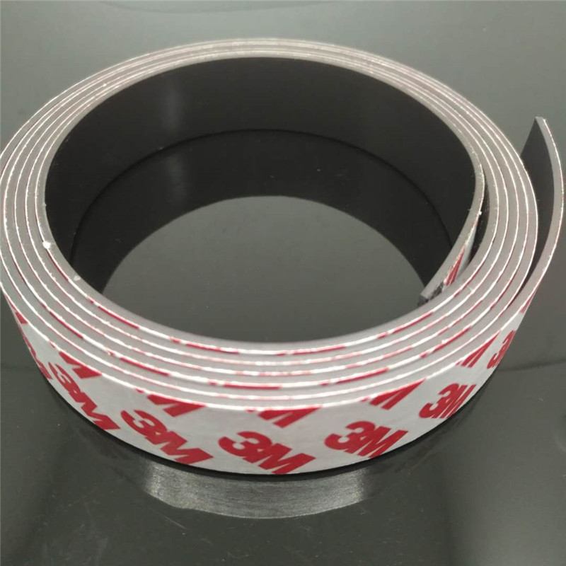 Zion 1m 5m 20 x 1.5mm super strong magnet strip self adhesive flexible magnetic strip rubber magnet tape width 20 mm X 1.5mm new 3 meter 12 7 x 1 5mm self adhesive rubber magnetic tape magnet strip strong suction can cut a variety of shapes diy