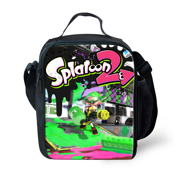 US $13 48 20% OFF|FORUDESIGNS Kids Portable Lunch Bag Splatoon 2 Women  Insulated Lunch Bag Harajuku Adult Function Lunch Box Kids Cute Lunch  Bags-in