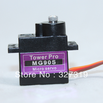 1pcs TowerPro MG90S Metal Gear RC Micro Servo 9g For RC Helicopter Airplane rc servo tower pro mg92b digital metal gear metallgetriebe 3 5kg torque for model plane jetrc airplane rc helicopter parts