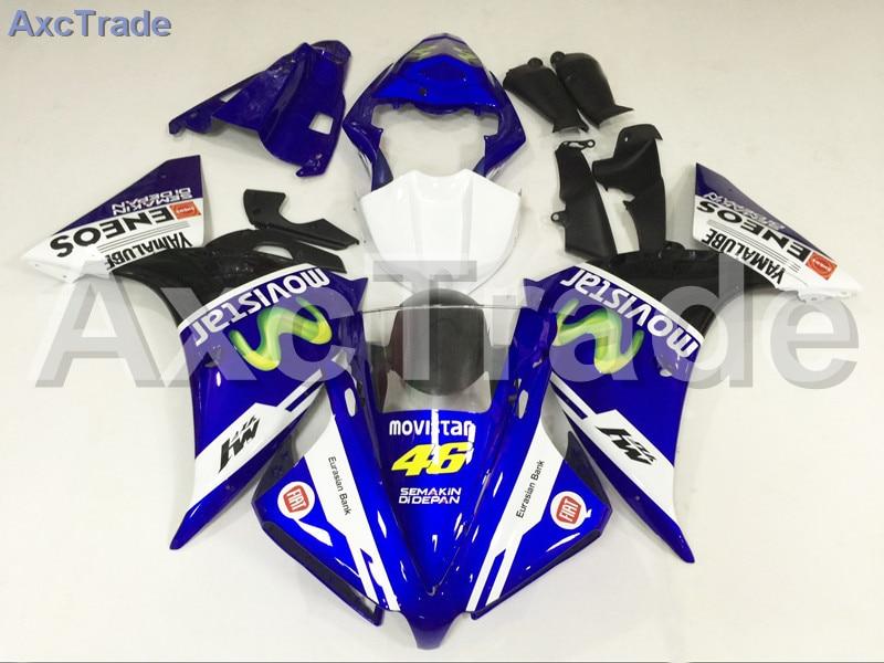 Мотоцикл Обтекатели для Ямаха YZF-Р1000 и YZF-R1 и YZF 1000 2012 2013 2014 YZF1000 R1 и АБС-пластик инъекции обтекатель кузова синий