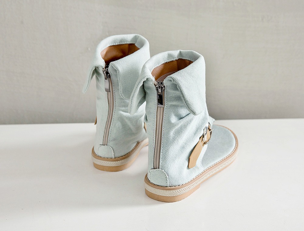 HTB1ZBzMLsfpK1RjSZFOq6y6nFXaG CDPUNDARI Ladies Denim Flat sandals for women Platform Sandals summer shoes woman Gladiator Sandals sandalias mujer 2019