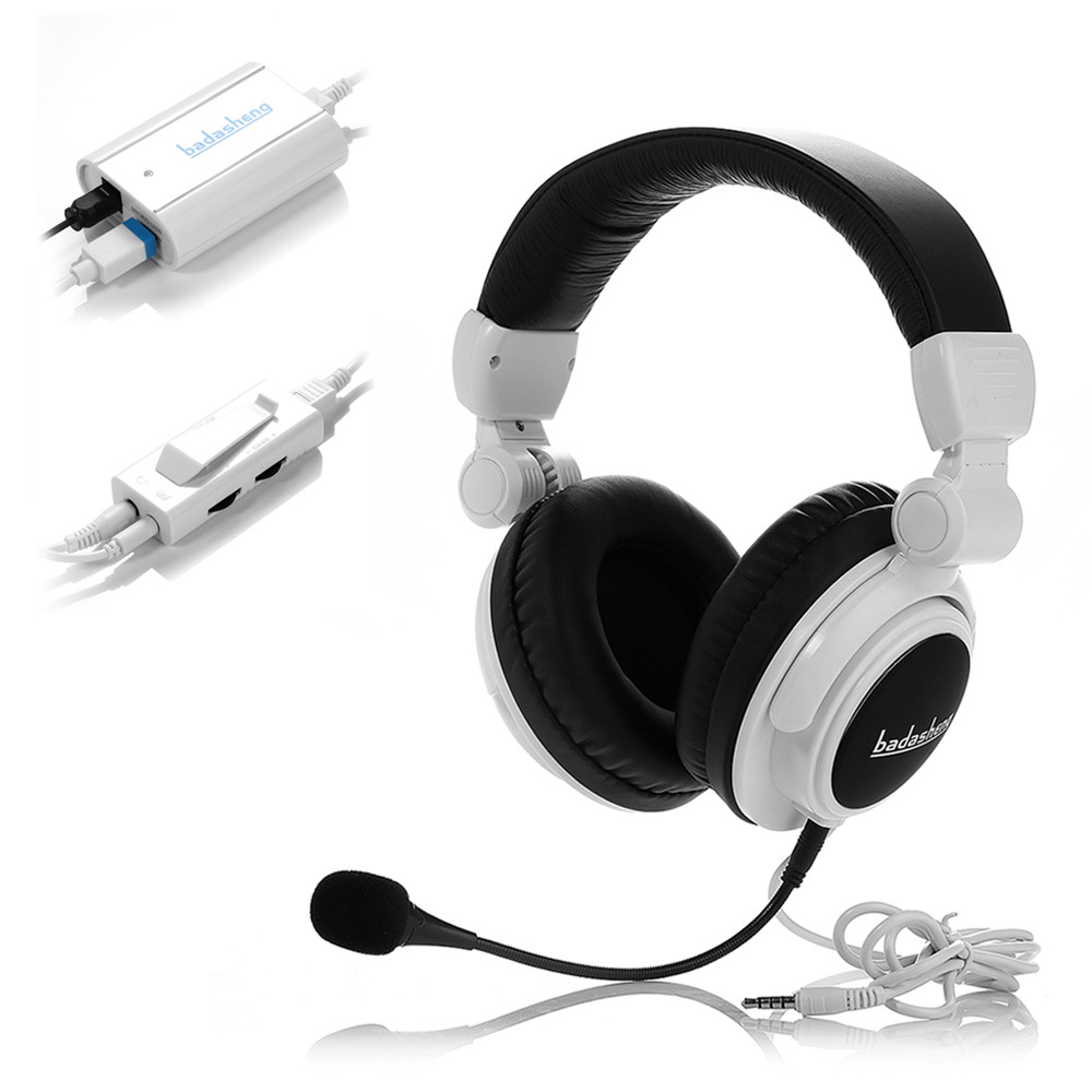 badasheng BDS-933O Optical Connect Gaming Headset for XBOX ONE/PS4/XBOX 360/PS3 Headband Headset optical input game Headphones ...
