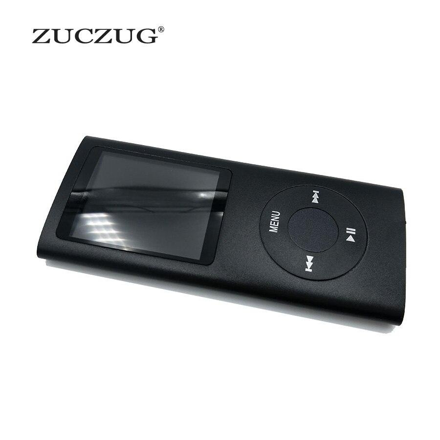 "ZUCZUG 4th 1.8 ""LCD מסך ספורט MP3 נגן מובנה זיכרון 16 gb 32 gb וידאו FM רדיו מוסיקה MP3 נגן"