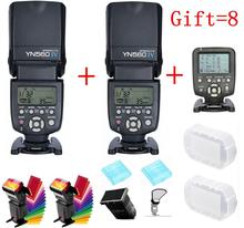 For Nikon Canon DSLR Camera Master LCD Speedlite Flash YONGNUO YN560 IV YN560IV YN560-IV X2+ YN-560TX Wireless Flash Controller