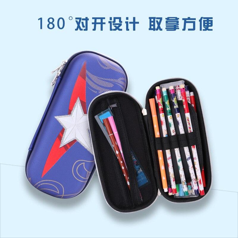 Pentagram pen box estuche escolar high capacity pencil case kalem kutu trousse scolaire stylo pencil case school pencil case