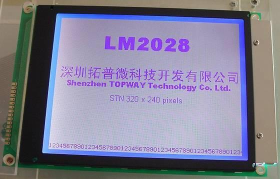 1 pcs tương thích với LM2028 19 LM2028 P050006105 New Grade 5.7 inch 14 pin LCD Mô đun Công Nghiệp MÀN FPC kết nối