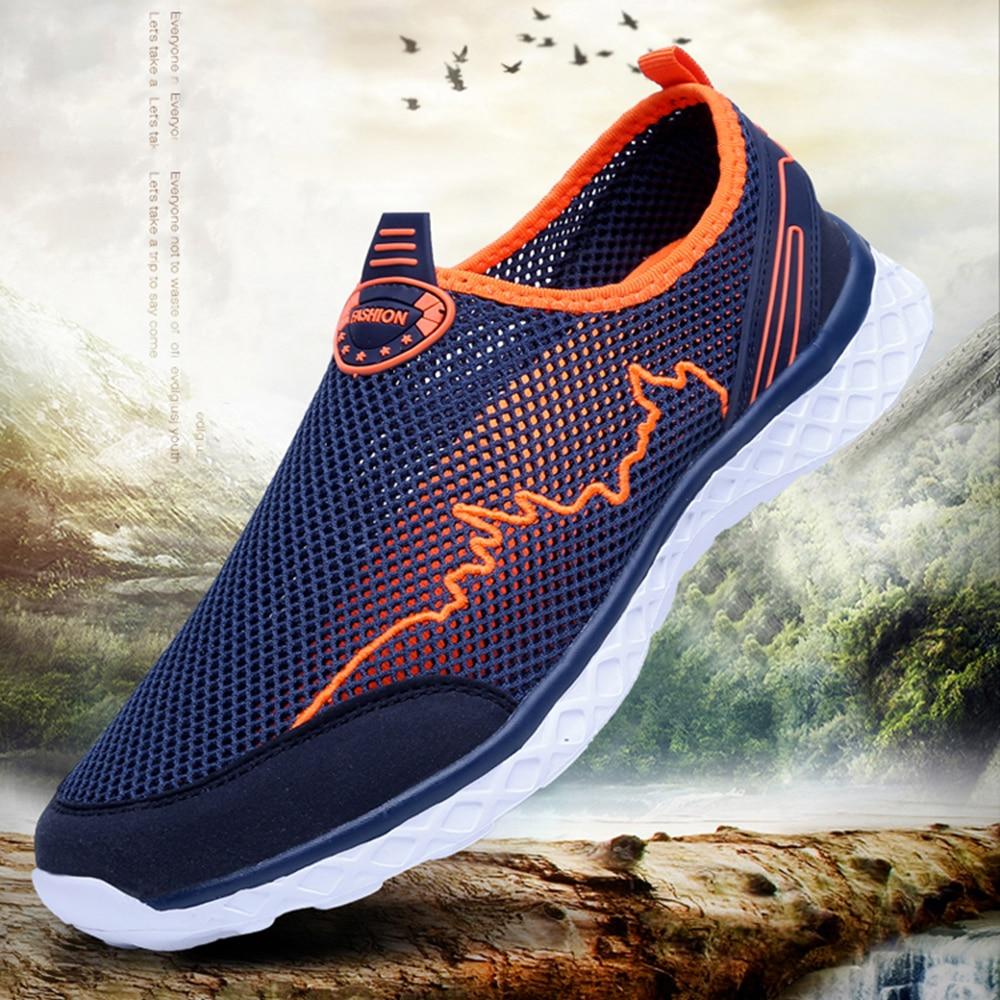MAISMODA Summer Outdoor Shoes Men Women Lightweight Breathable Mesh Creek Beach Quick Dry Wading Upstream Fishing Net Water Shoe 1