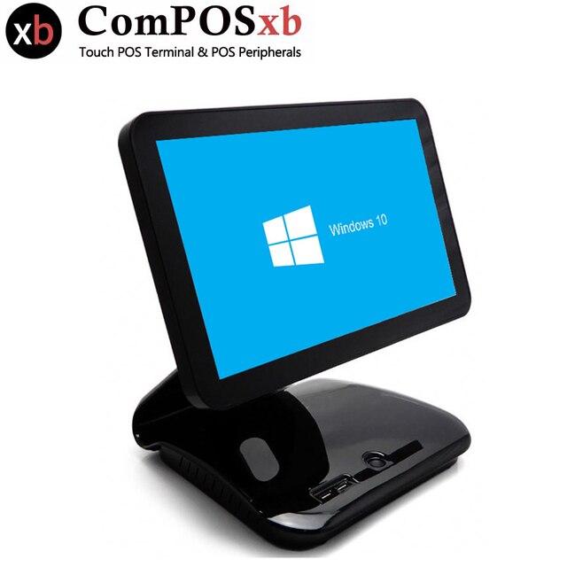 Achats gratuits pos moniteur écran tactile pos système 15.6 pouces TFT LCD caisse enregistreuse J1900 32 GSSD 2G RAM tout en un pc pos dispositif 1