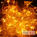 10 m luz da corda do DIODO EMISSOR de luzes de casamento festa de natal luz de iluminação interior e exterior à prova d' água 110 V 220 V natal decorações