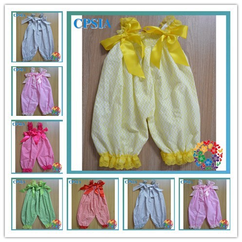 c02338d3f Hot Summer baby bubble knickers romper cheap baby clothes with bows baby  boutiques online- 24 pcs/lot