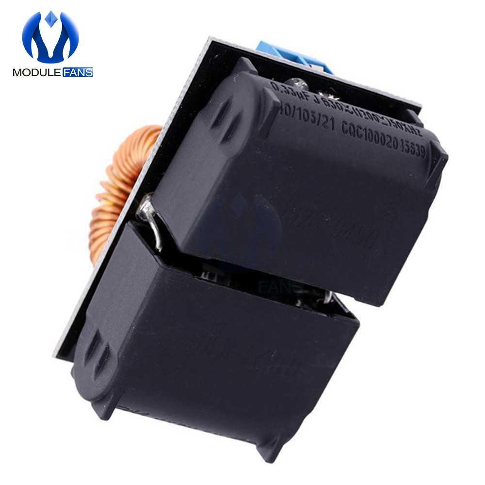 1PC 5~12v ZVS Induction Heating Power Supply Module Tesla Jacob/'sLadder+CoilL2KD
