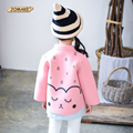 Autumn New Arrival Cute Raindrop Jackets For Girls Long Sleeve Baby Girl Clothes Kids Outerwear & Coats Princess Children Coat