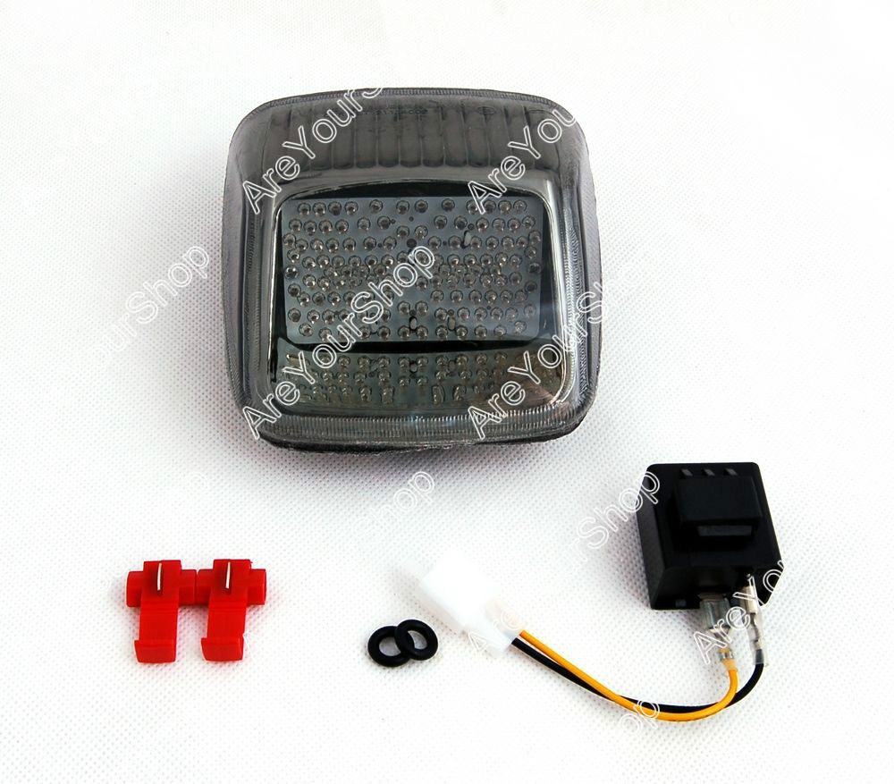Areyourshop For Harley V-ROD Night Rod Street Rod 2002-2011 Taillight + Turn Signals Smoke
