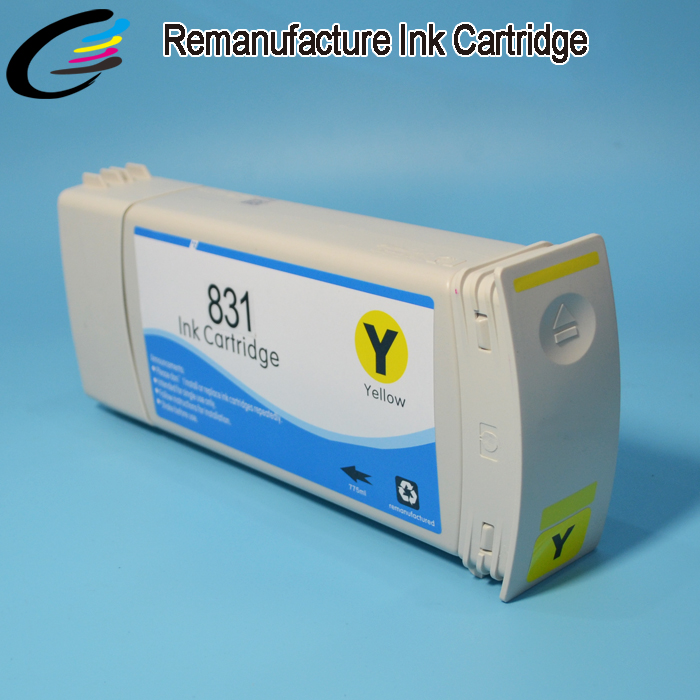 ФОТО hight quality products Reborn ink Cartridge for HP 831 Latex Ink Catridge with Newest Compatible Chips and Latex Inks