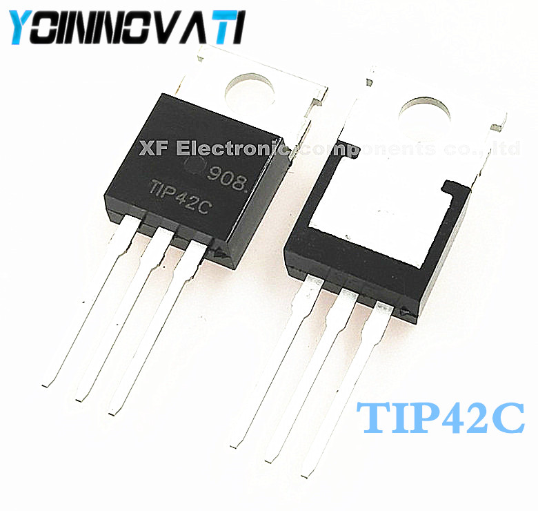 Free shipping 500pcs lot TIP42 TIP42C POWER TRANSISTORS 6A 40 100V 65W Best quality