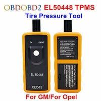 Melhor qualidade el50448 presure pneu automático monitor sensor OEC-T5 el 50448 para gm/para opel tpms ferramenta de redefinição EL-50448 eletrônico