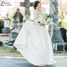 LAYOUT NICEB SHJ846 A-Line Wedding Dress for