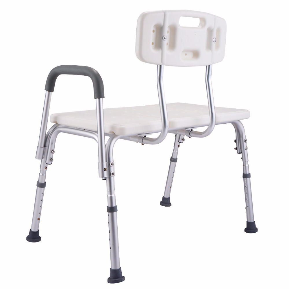 Goplus 10 Height Adjustable Medical Shower Chair Bath Tub Bench ...