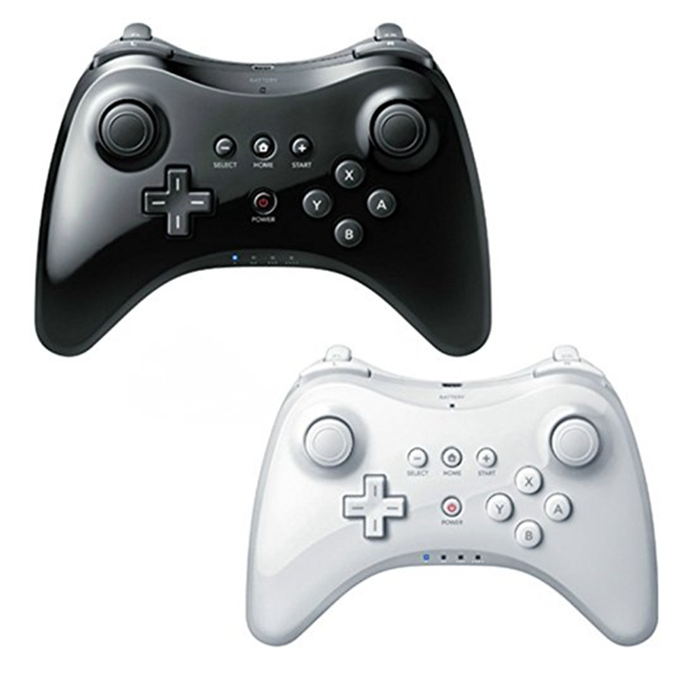 wireless bluetooth gamepad for nintendo wii u pro controller game joystick wiiu remote console. Black Bedroom Furniture Sets. Home Design Ideas