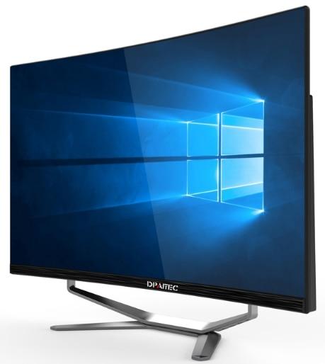 Intel Core i7-7700 16gb RAM 240 GB SSD 1 to HDD graphics GTX1050Ti 4G 27 pouces courbe affichage tout en un ordinateur de bureau jeux PC