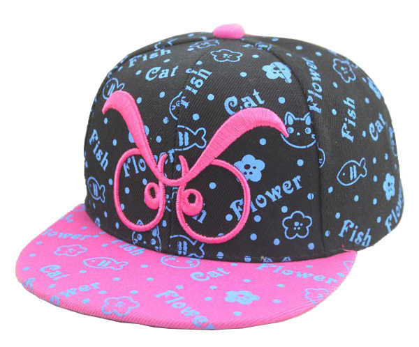 76ddf6f52 [DINGDNSHOW] 2019 Novelty Character Baseball Cap Print Cartoon Lovely Hip  Hop Hat Style Flat Hat Last King For Boys and Girls