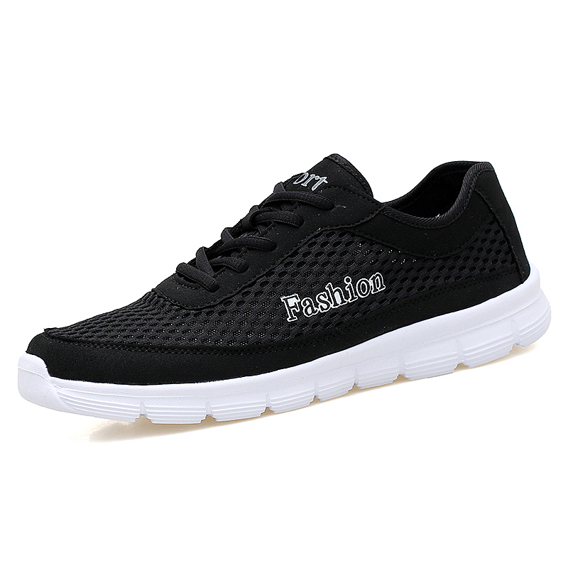 Big Size38-48 Fashion Men Casual Shoes 2017 Summer New Design Lightweight Breathable Mesh Trainers Shoes Male Lovers Unisex Shoe