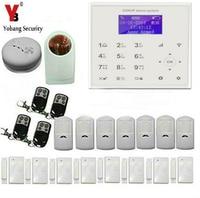 YobangSecurity Wireless WIFI GSM SMS Communicating Intruder Burglar Home Alarm System Flash Strobe Siren PIR Motion