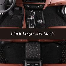 цена на HeXinYan Custom Car Floor Mats for CHANA all models CS35 Alsvin Benni CX20 CX30 CS75 CS15 CS95 CS55 car styling auto accessories