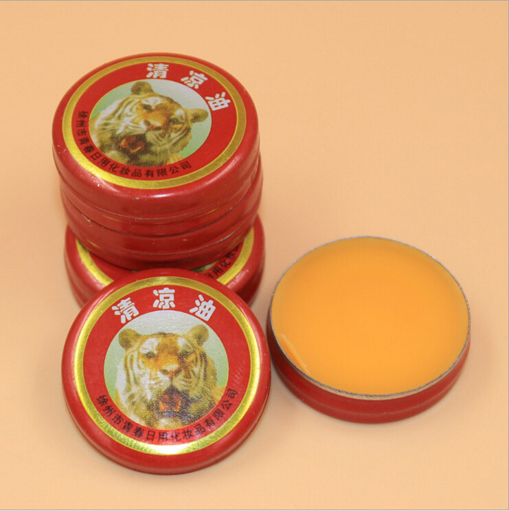 10pcs/lot Chinese Tiger Muscle Massager Relax Essential Oil Magic Balm Refresh Influenza Treatment Headache Dizziness MR0008
