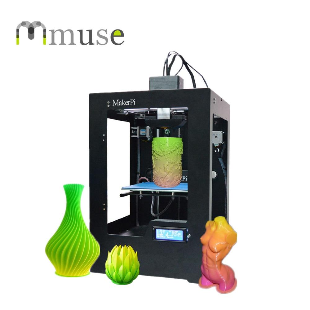 New Mix Color Printing FDM Single Extruder 3D Printer