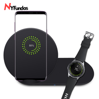 NYFundas wireless charger stand station for samsung watch charging for samsung galaxy note 9 8 s9 S8 plus samsung gear S2 S3 S4