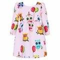 Милан творения платье принцессы детей 2015 бренд девочка платье зима половины рукав золушка дети платья для девочек одежда