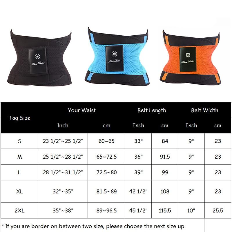 Fitness Belt Xtreme Power Thermo Hot Body Shaper Waist Trainer Trimmer Corset Waist Belt Cincher Wrap Workout Shapewear Slimming 1
