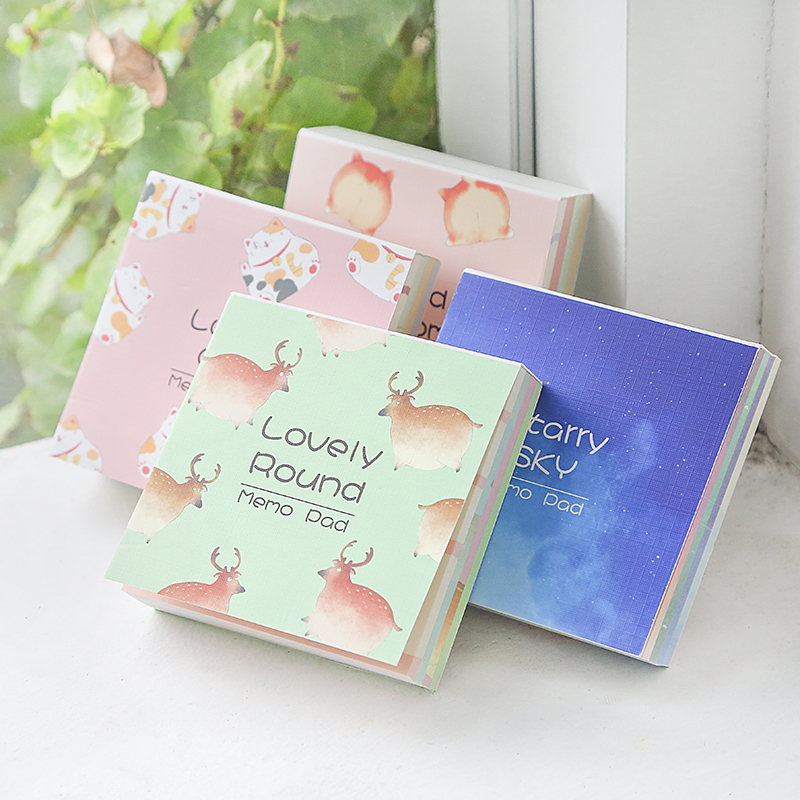 180 Sheets Nice Sticky Notes Memo Pad Decoration Daily Notice Stickers N Times Post It Notepad School Office Supplies