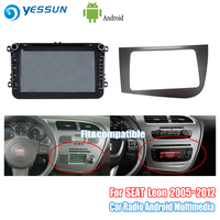 YESSUN For SEAT Leon 2005~2012 Car Android Radio GPS Navi Navigation DVD CD Player Stereo BT HD Screen Multimedia