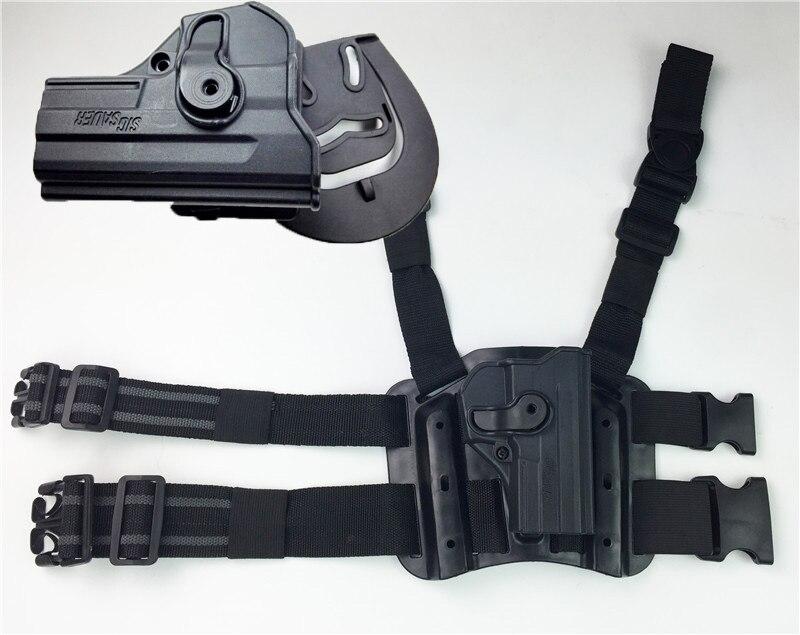 Nouveau paintball airsoft WARGAME tactique ceinture cuisse Leg Pouch