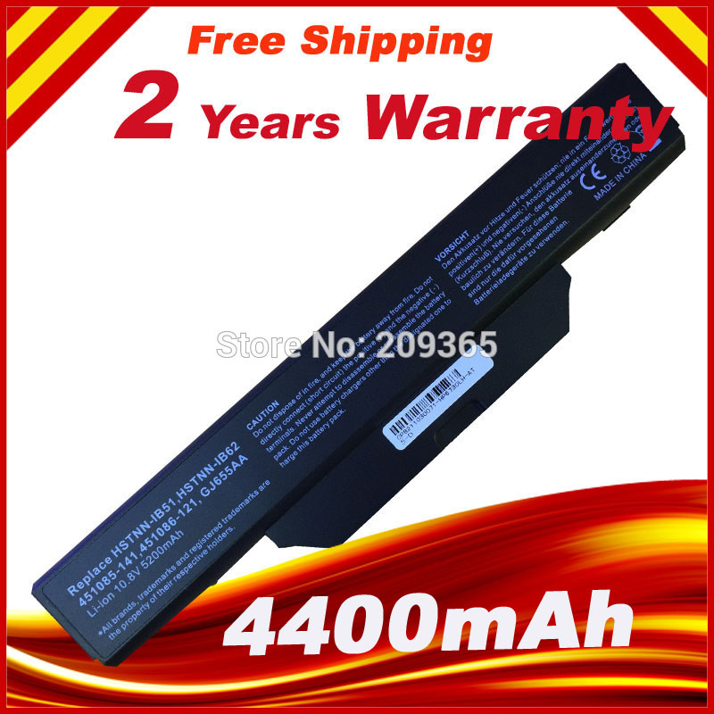 Generic 550 Battery, Business Notebook 6720s, 6730s ,6735s ,<font><b>6820s</b></font>, 6830s Battery HSTNN-IB51, HSTNN-IB52 battery for <font><b>HP</b></font> 6720s image