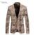 Luxo Pleuche Ternos Blazer Para Homens Casacos De Lã Único Botão Vestido de noiva Estilo Inglaterra Xadrez Casaco Masculino Slim Fit Cáqui E346