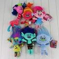 Фильм Тролли Плюшевые Куклы Шесть Тип Мягкие Игрушки Мягкие Фаршированные Плюшевые Куклы Рождественские Подарки Для Детей 1 шт.