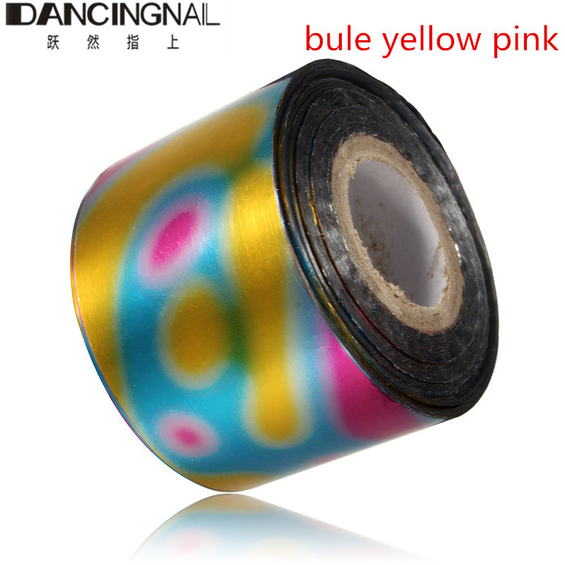 120m/roll Nail Art Sticker Holographic Nail Foils Starry Sky Design ...