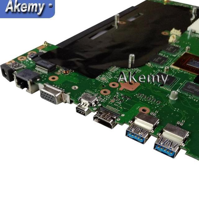 AK G55VW ordinateur portable carte mère GTX660M 2GB pour G55VW G55V Test carte mère G55VW carte mère test 100% ok